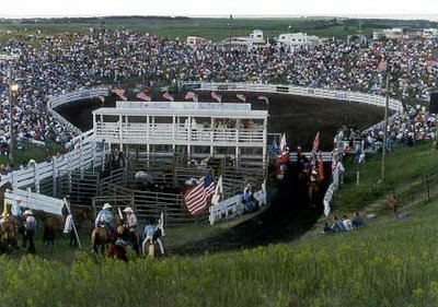 South Dakota facts: The Crystal Springs Ranch rodeo arena