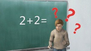 Math facts: confusing math