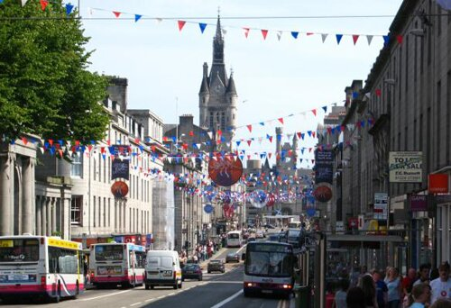 Scotland facts: Aberdeen