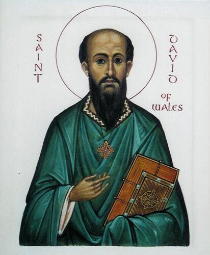 Wales facts St David of Wales 10 Interesting Wales Facts