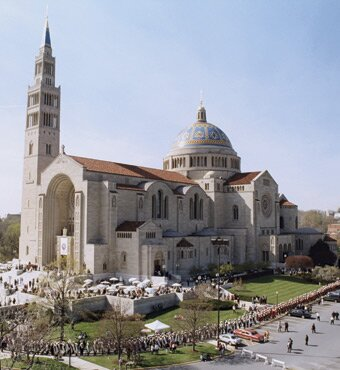 Washington DC facts: Basilica of the National Shrine of the Immaculate Conception