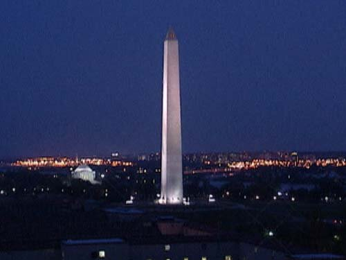 Washington DC facts: DC at night