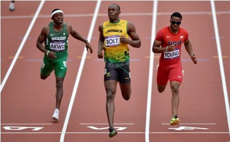 Facts about Usain Bolt - Running