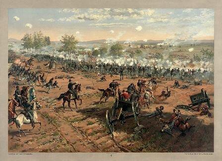Facts about Battle of Gettysburg - Battle of Gettysburg