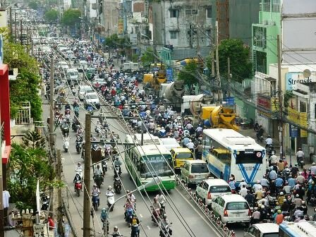 Facts about Ho Chi Minh - Traffic