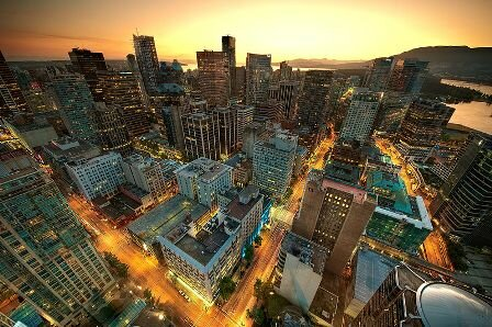 Facts about Vancouver - Downtown Vancouver