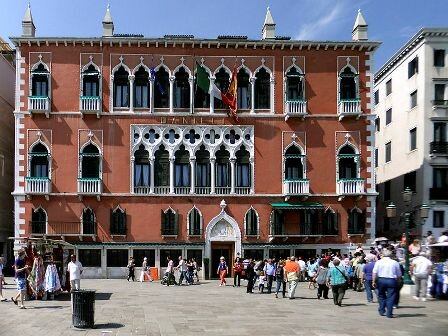 Facts about Venice - Dandolo Palace
