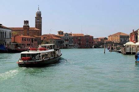 Facts about Venice - Vaporetto