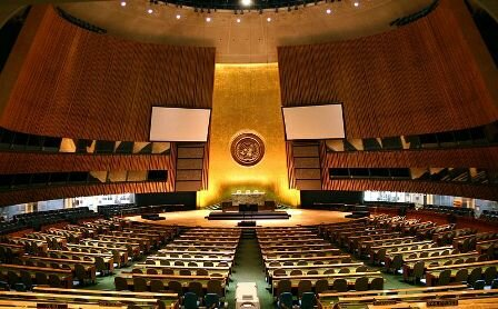 Facts about the United Nations - UN General Assembly Hall