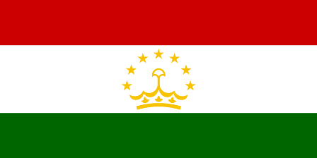 Facts about Tajikistan - Flag