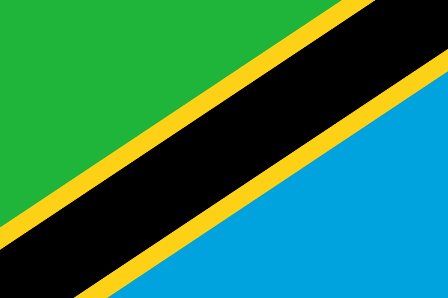 Facts about Tanzania - Flag