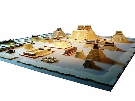 Facts about Tenochtitlan - Model of Tenochtitlan
