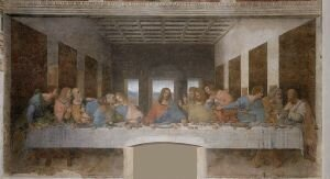 Facts 2 Last Supper - Leonardo da Vinci