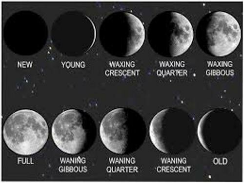 Facts about Moon Phases