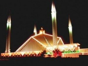 Faisal Mosque (Islamabad,Pakistan)