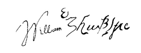 Top 5 Most Expensive Signature In The World William Shakespeare Signature