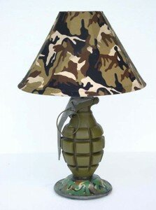 the most unique lamp design Desktop Grenade Lamp