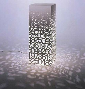 the most unique lamp design Memento lamp