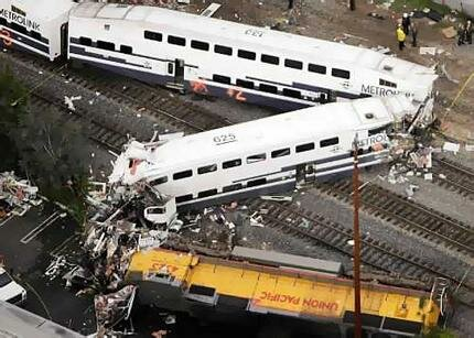 top 10 most biggest accident in history Metrolink Crash