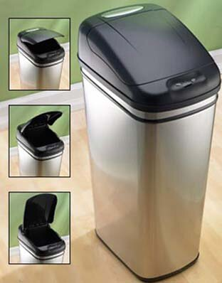 Top 6 most advanced and coolest trash cans in the world for Poubelle cuisine etroite