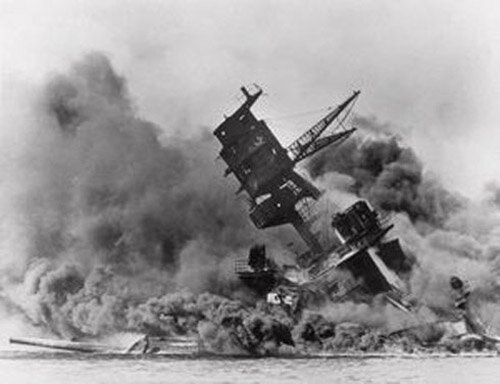 Pearl Harbor Facts: Air Plane Crash