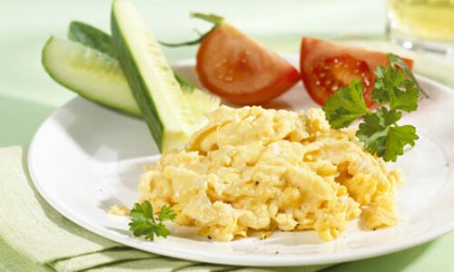 Egg nutrition facts: Scrambled egg