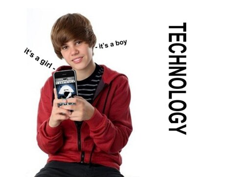 Justin Bieber facts: Justin Bieber and technology