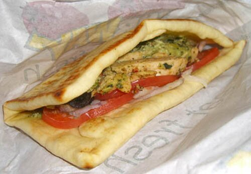 Subway nutrition facts: Flatbread