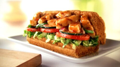 Subway nutrition facts: Sweet Onion Chicken Teriyaki
