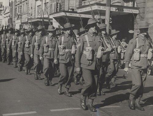 World war one dates in Australia