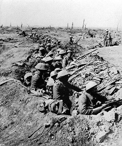 WW 1 facts: Battlefield
