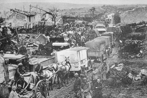 WW 1 facts: Mobilized Residents