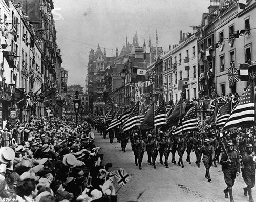 WW 1 facts: parade of the end of WW 1