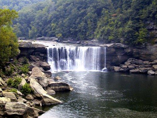Kentucky facts: Cumberland Fall