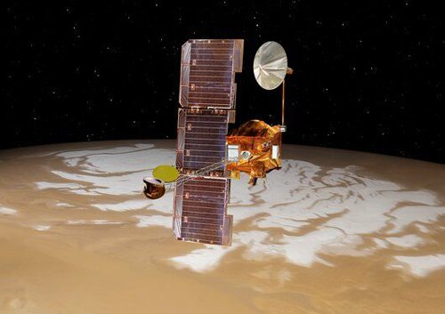 Mars facts: Mars Odyssey spacecraft
