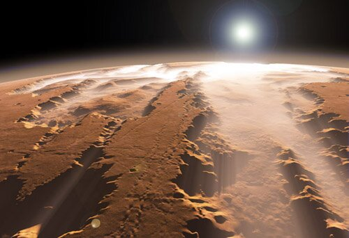 Mars facts: Valles Marineris canyon