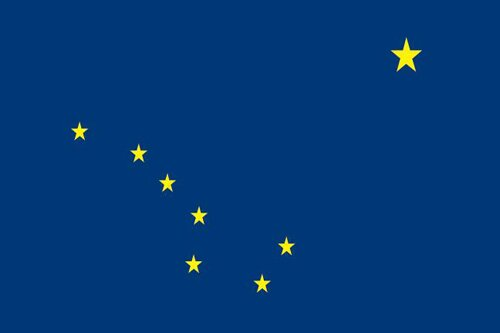 Alaska facts: Alaska Flag