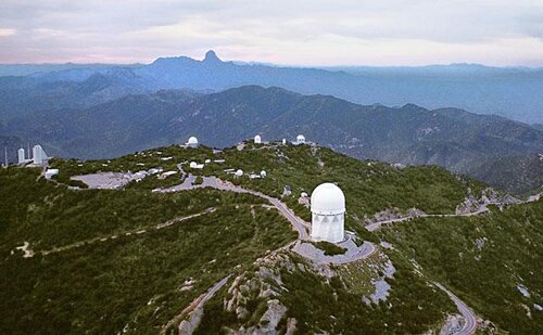 Arizona facts: Kitts Peak National Observatory
