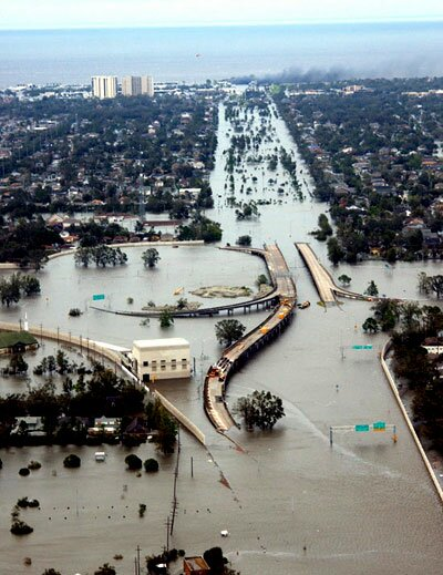 Hurricane Katrina facts: damaged facilities