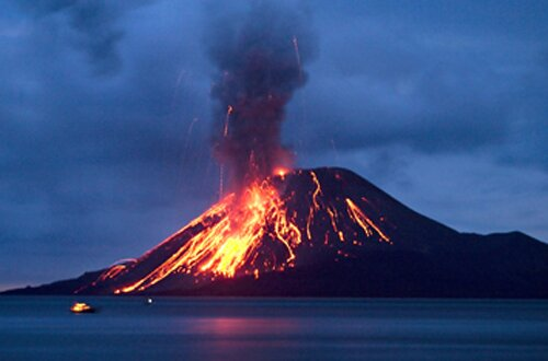 Ocean facts: volcano in ocean