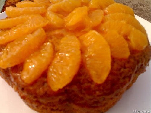 Orange facts: orange cake