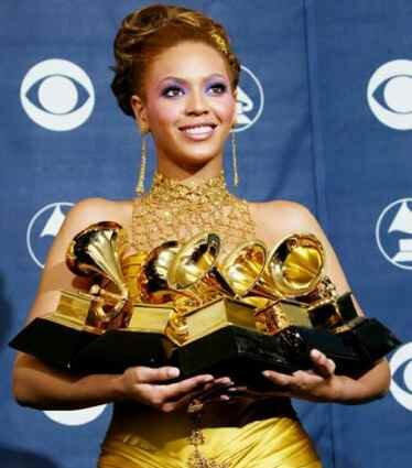 Beyonce facts: Grammy Award
