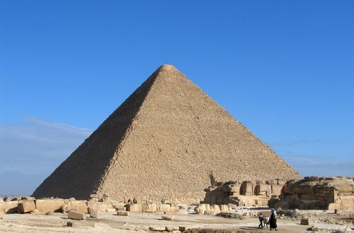 Facts about copper: The Pyramid of Cheops