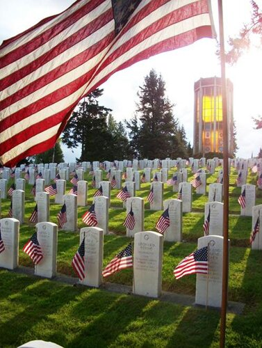Facts about veteran day: Cemetery