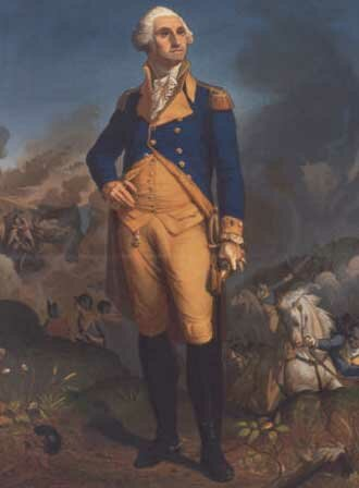 George Washington facts: george washington standing