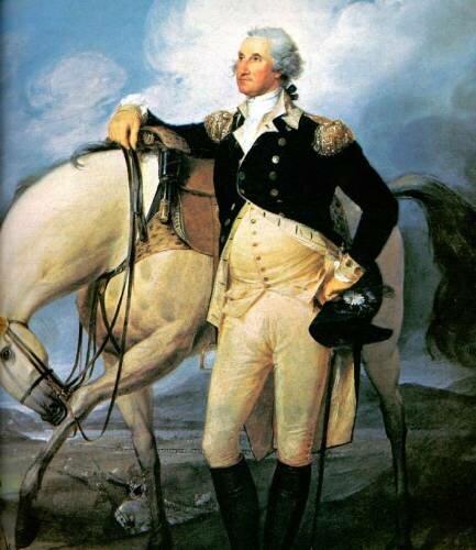 George Washington facts: horsing