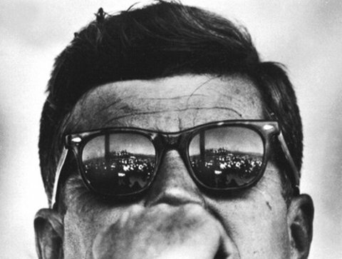 John F Kennedy facts: American Optical Saratoga