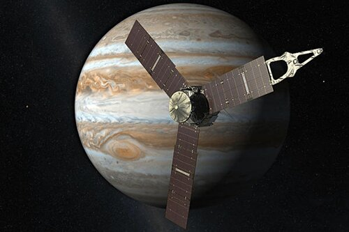 Jupiter facts: spacecraft from Earth