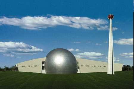 Massachusetts facts: Basketball Hall Of Fame