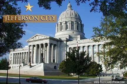 Missouri facts: Capitol in Jefferson City